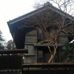 古い蔵(夕方)