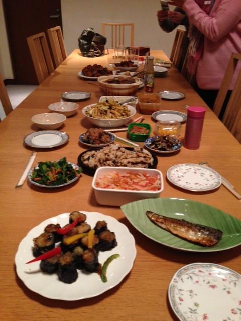 2015年新年会食事